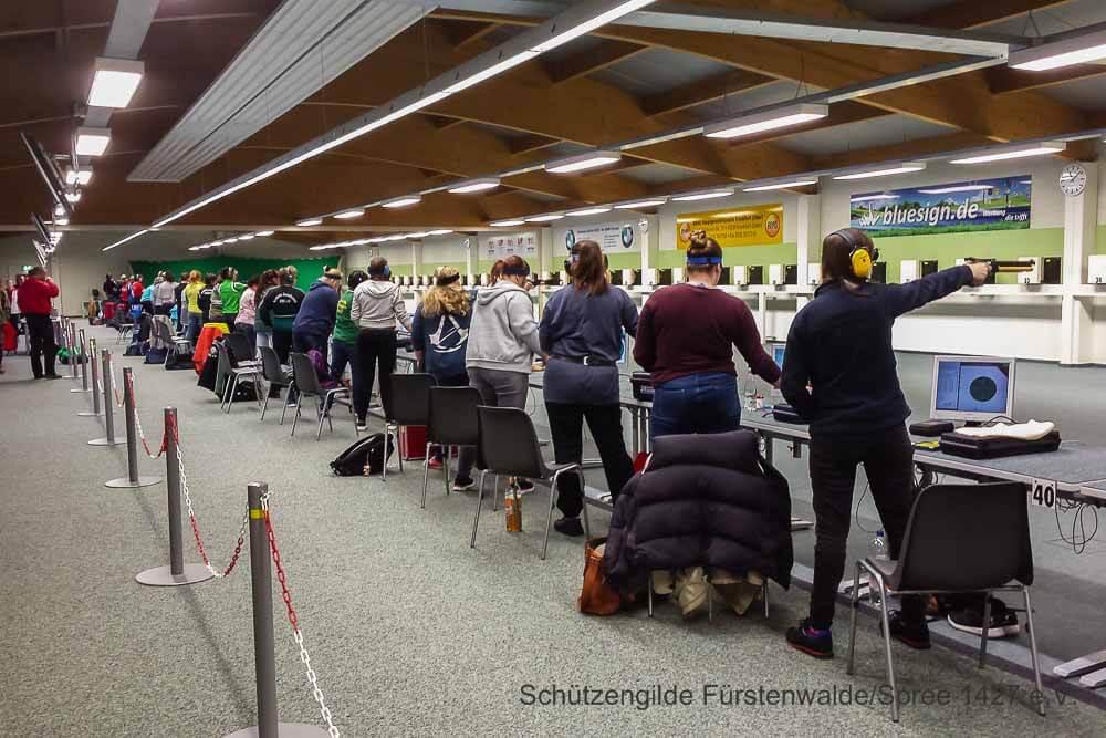 Landesmeisterschaft Luftpistole 2016 in FFO