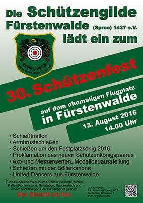 Schützenfest am 13.08.2016