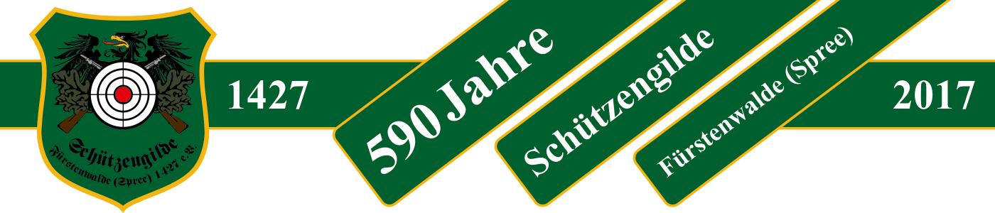 Schützengilde Fürstenwalde (Spree) 1427 e.V. Logo